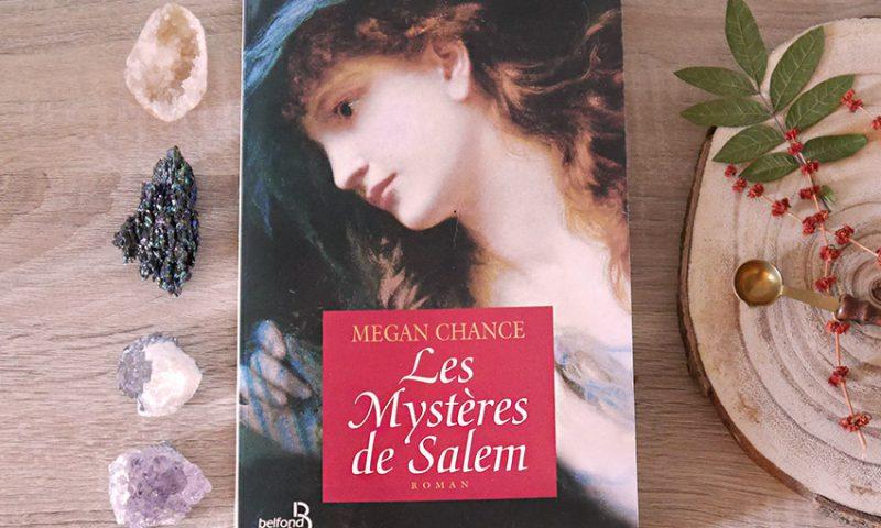 Roman sur le thème des sorcières de Salem écrit par Megan Chance et ayant pour titre Les Mystères de Salem.