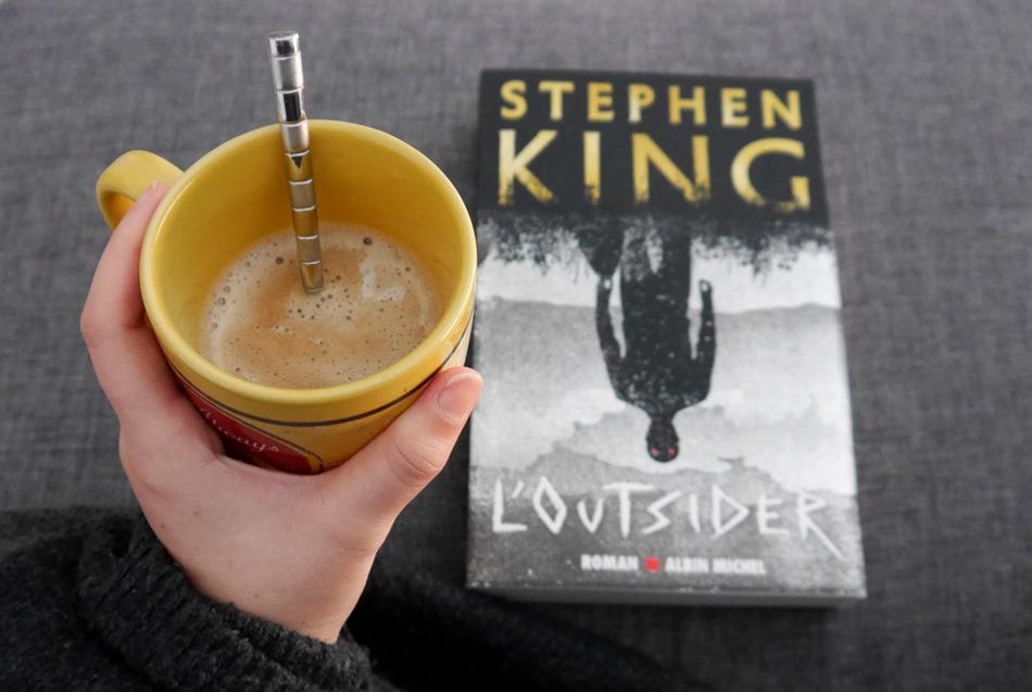 Chronique littéraire et avis lecture sur le dernier livre de Stephen King, Outsider..