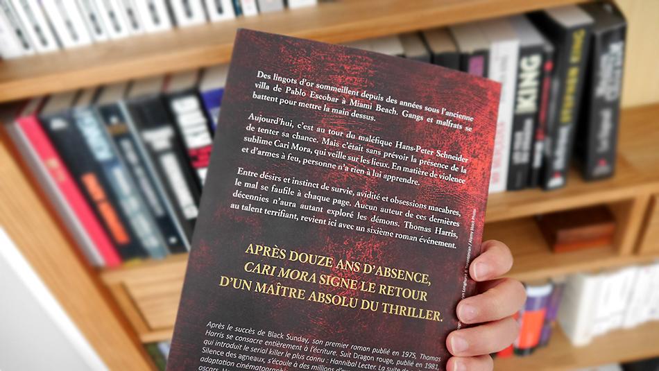 Résumé du thriller Cari Mora, le dernier roman de Thomas Harris.