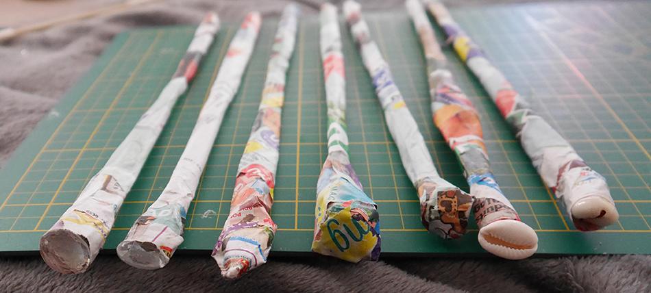 Un DIY Harry Potter pour personnaliser ses baguettes magiques.